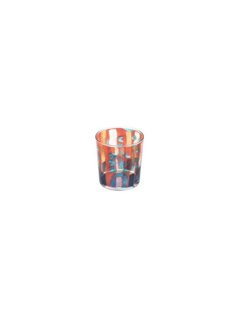 Le Botteghe su Gologone Glass Colored 8,5 X 9 Cm - Red