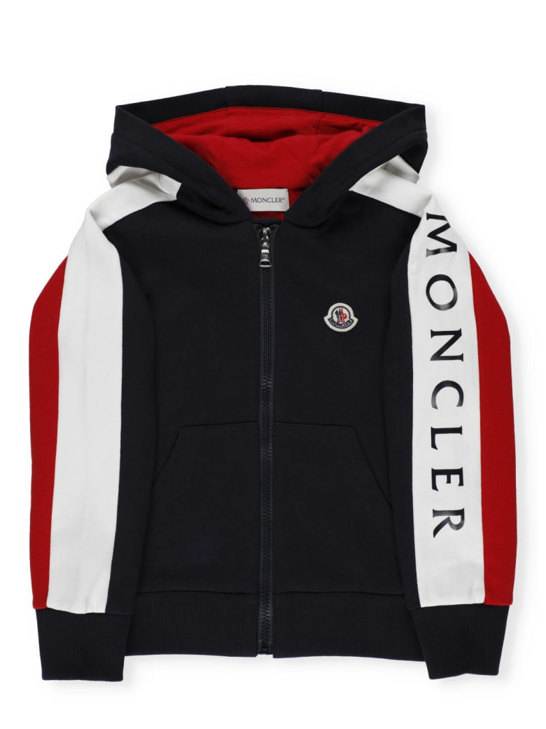 Moncler Cotton Hoodie - NAVY