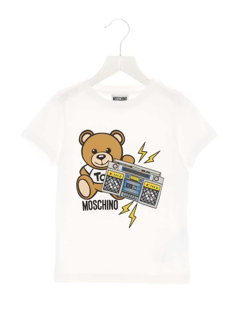 Moschino 'addition' T-shirt - White