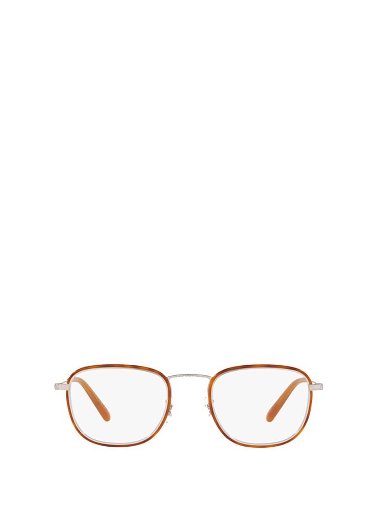 Oliver Peoples Oliver Peoples Ov1249t Amber / Silver Glasses - Amber / Silver