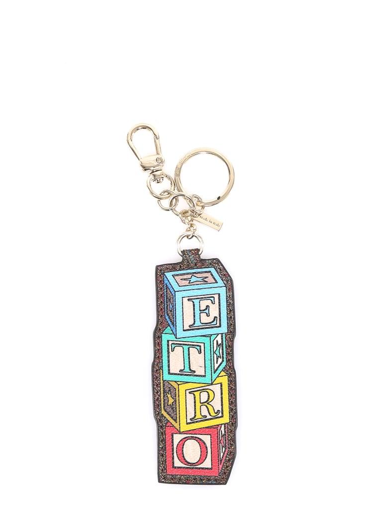 Etro Etro Toys Key Chain - Brown