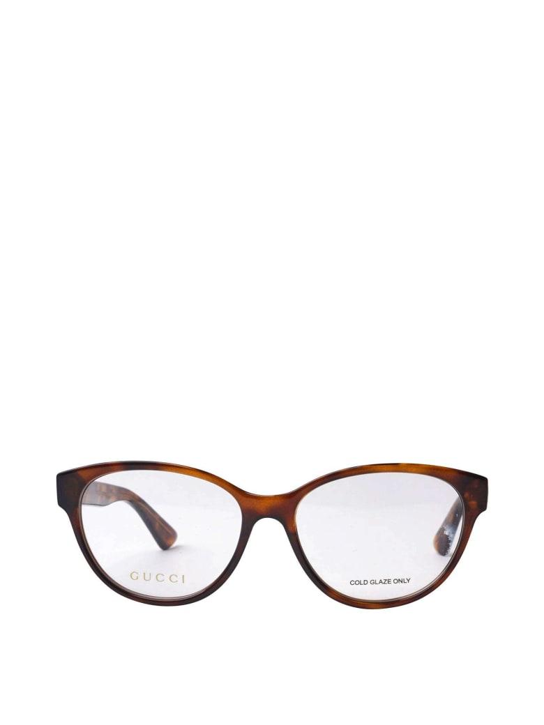 Gucci Gucci Gg0633o Havana Glasses - Havana