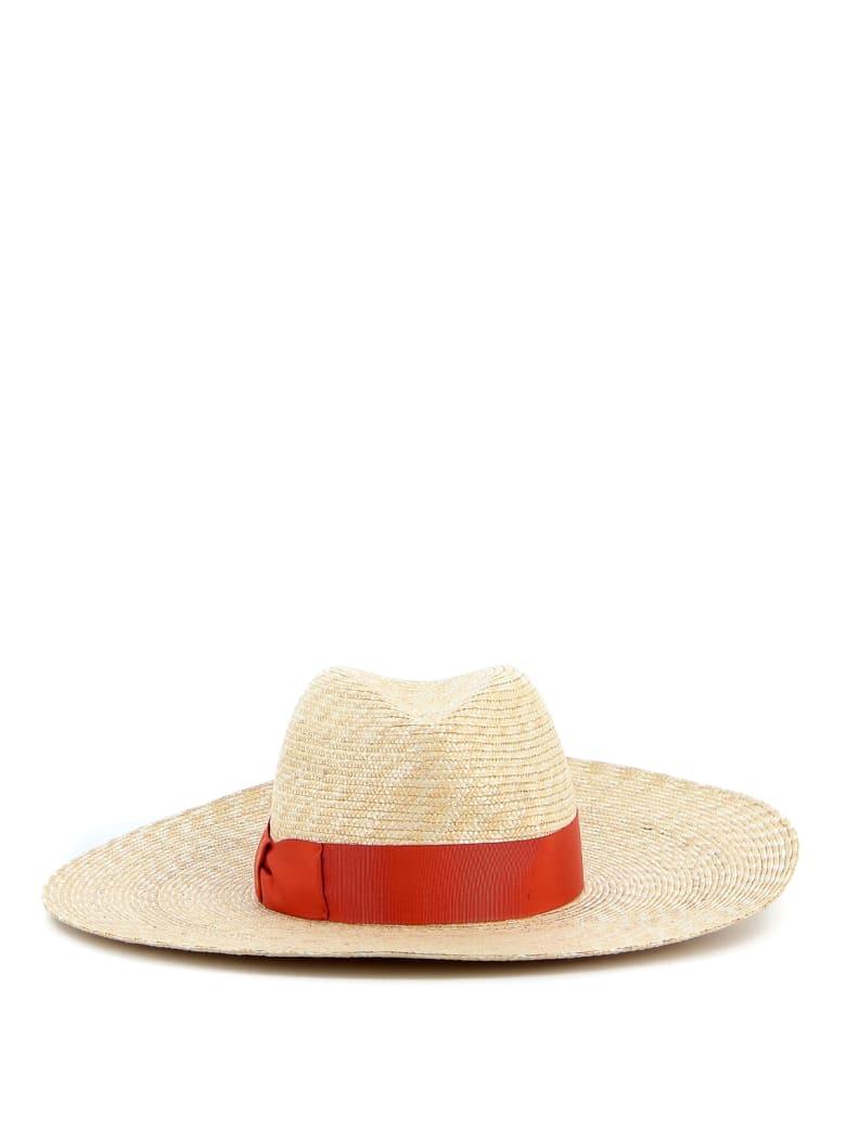 Borsalino Panama Hat - Orange