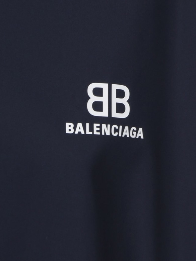 Balenciaga Zip Up Jacket - Dark Navy