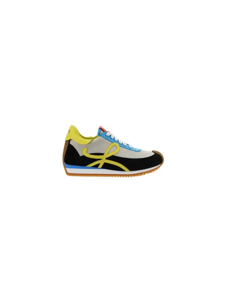 Loewe Flow Runner Sneakers - Soft white/black