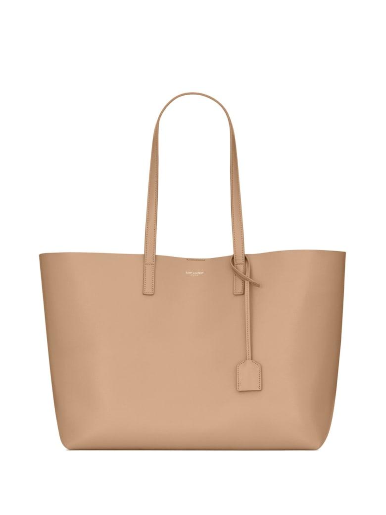 Saint Laurent Bag In Dark Beige Leather - DARK BEIGE