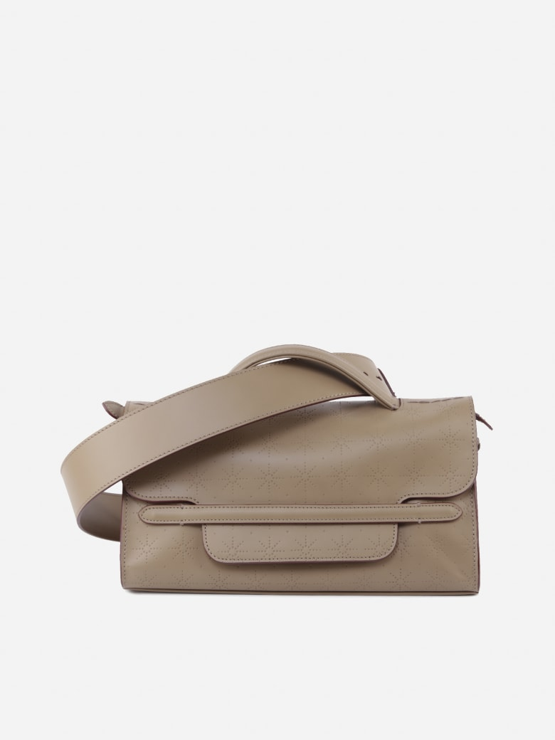 Zanellato Nina Leather Shoulder Bag - Nude