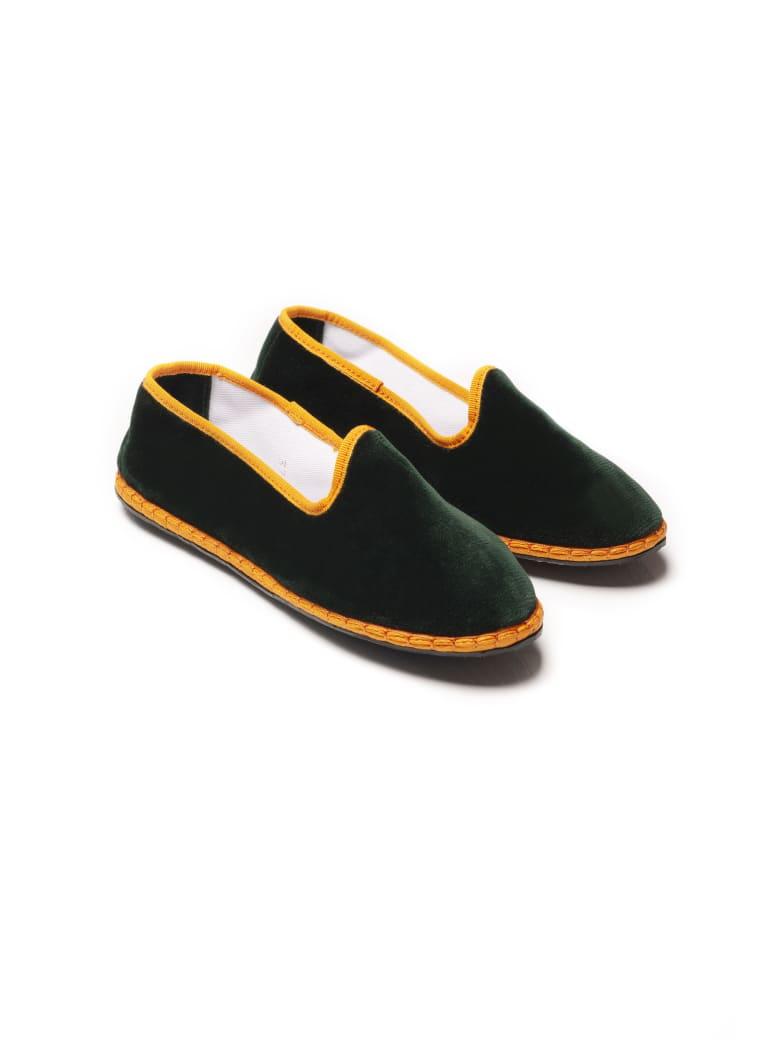 Le Sur Friulana Loafer - Green & Orange