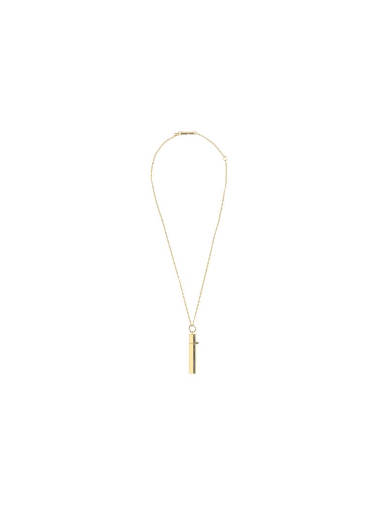 AMBUSH Pill Case Necklace - Gold no c