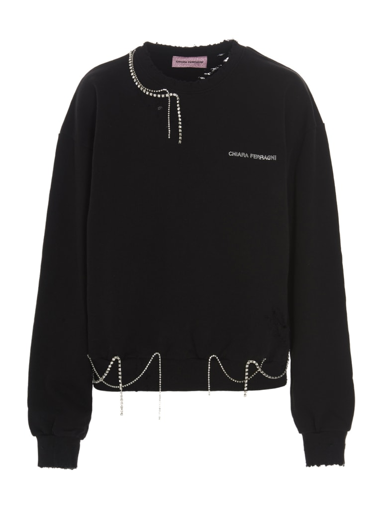 Chiara Ferragni Sweatshirt - Black