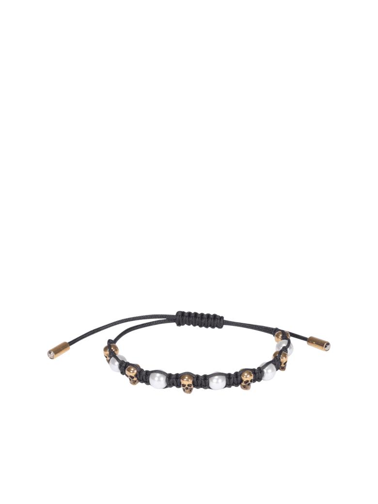 Alexander McQueen Friend Bracelet - Black