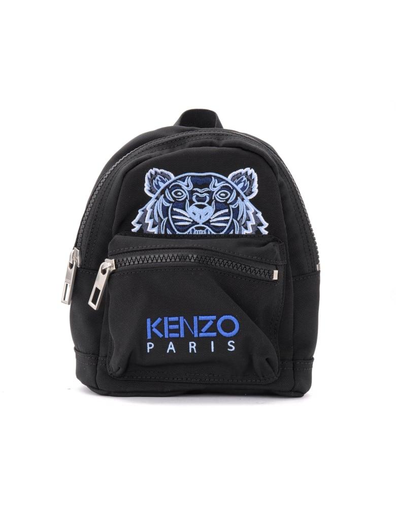 Kenzo Kampus Tiger Black Mini Backpack - NERO