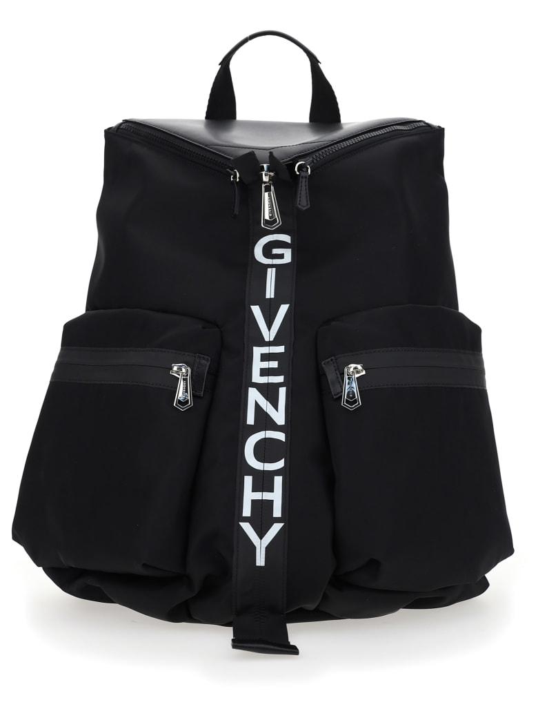 Givenchy Spectre Logo Detail Backpack - Black/white