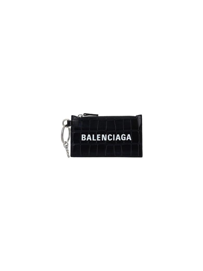 Balenciaga Wallet - Black/l white