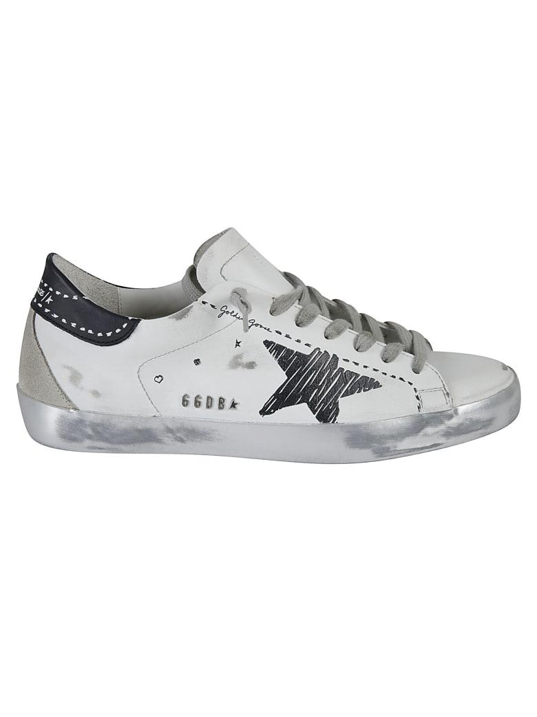 Golden Goose Super-star Classic Sneakers - White/Black/Ice