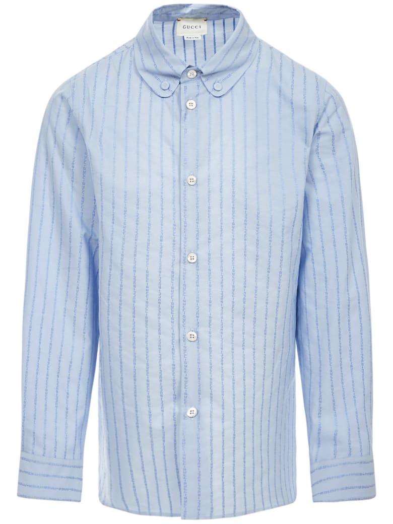 Gucci Junior Shirt - Blue