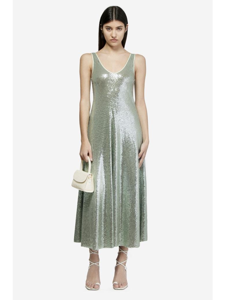 Forte_Forte Sequin Jersey Dress - Verde