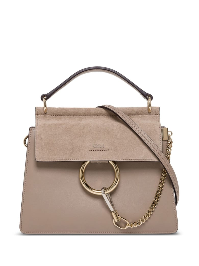 Chloé New Faye Cossbody Bag - W Motty Grey