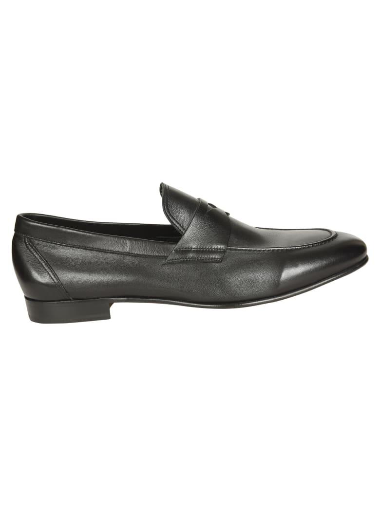 Eddy Monetti Classic Slip-On Loafers - Black