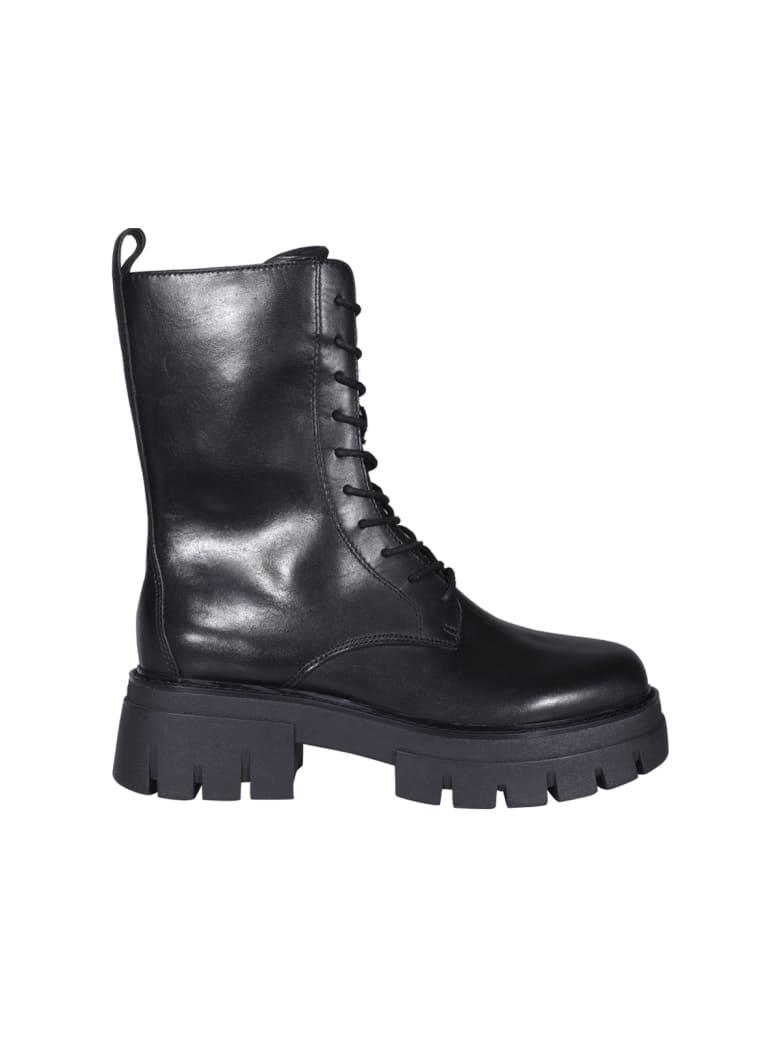 Ash Liam Ankle Boots - Black