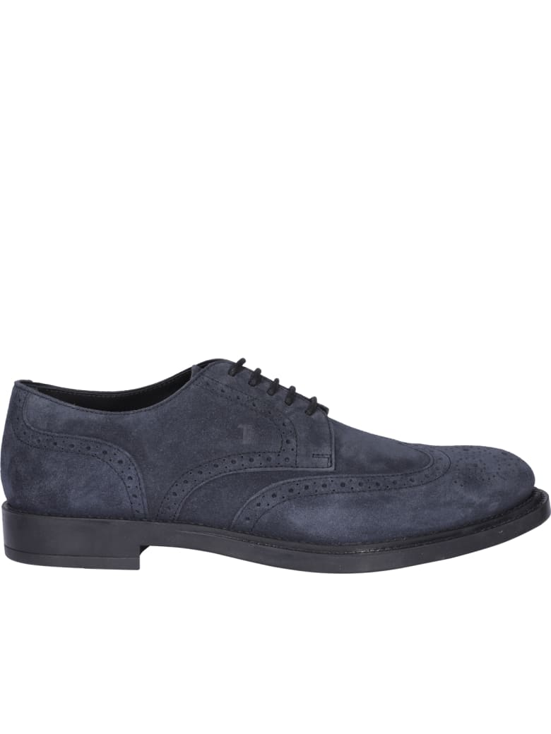 Tod's Laced Up Shoes - Blue
