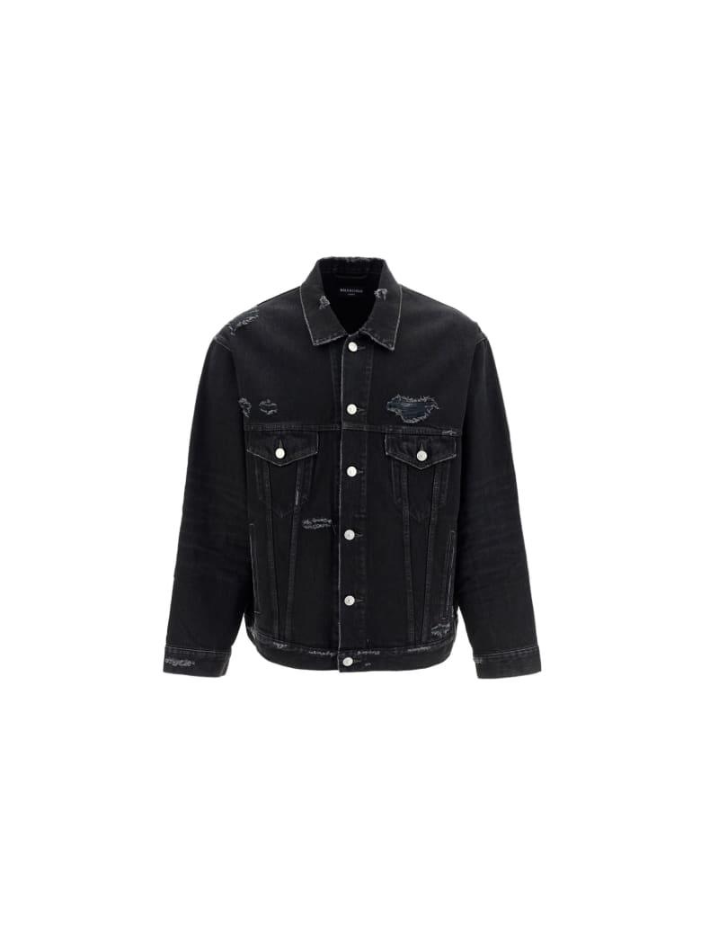 Balenciaga Denim Jacket - Nero
