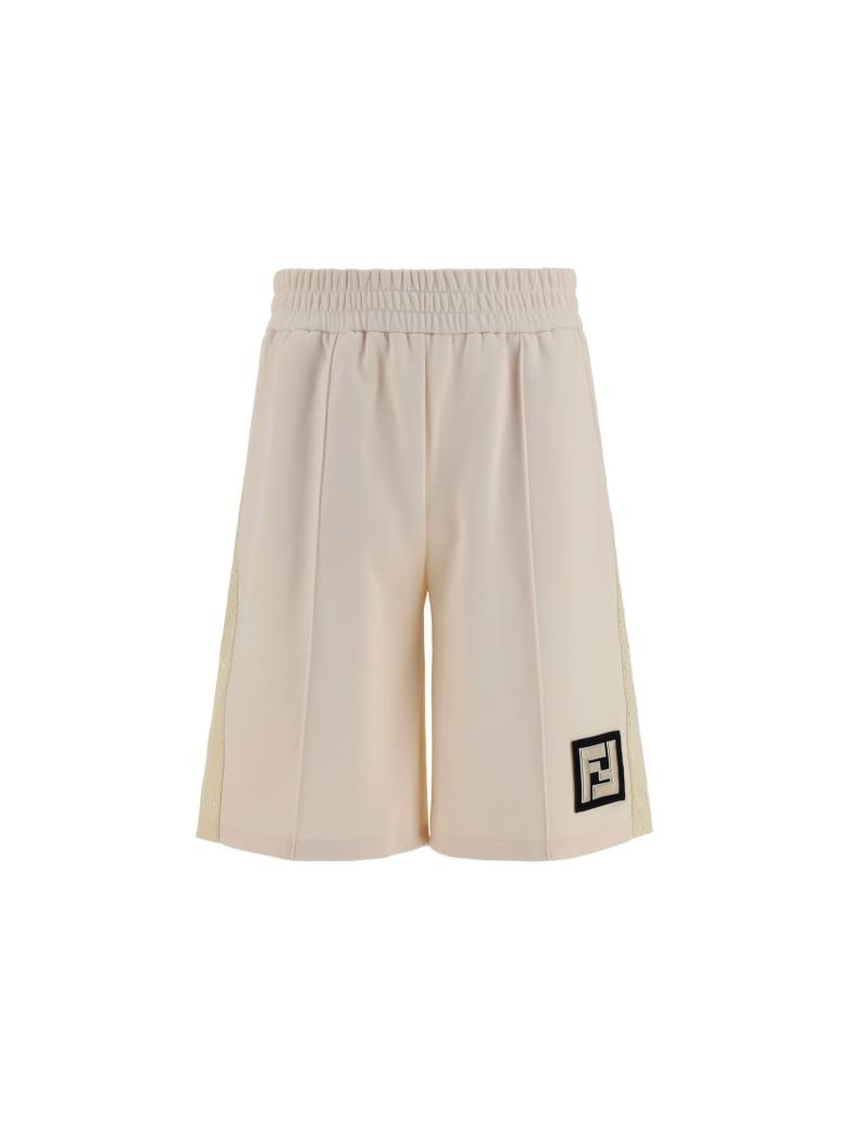 Fendi Active Ny Bermuda Shorts - Sand