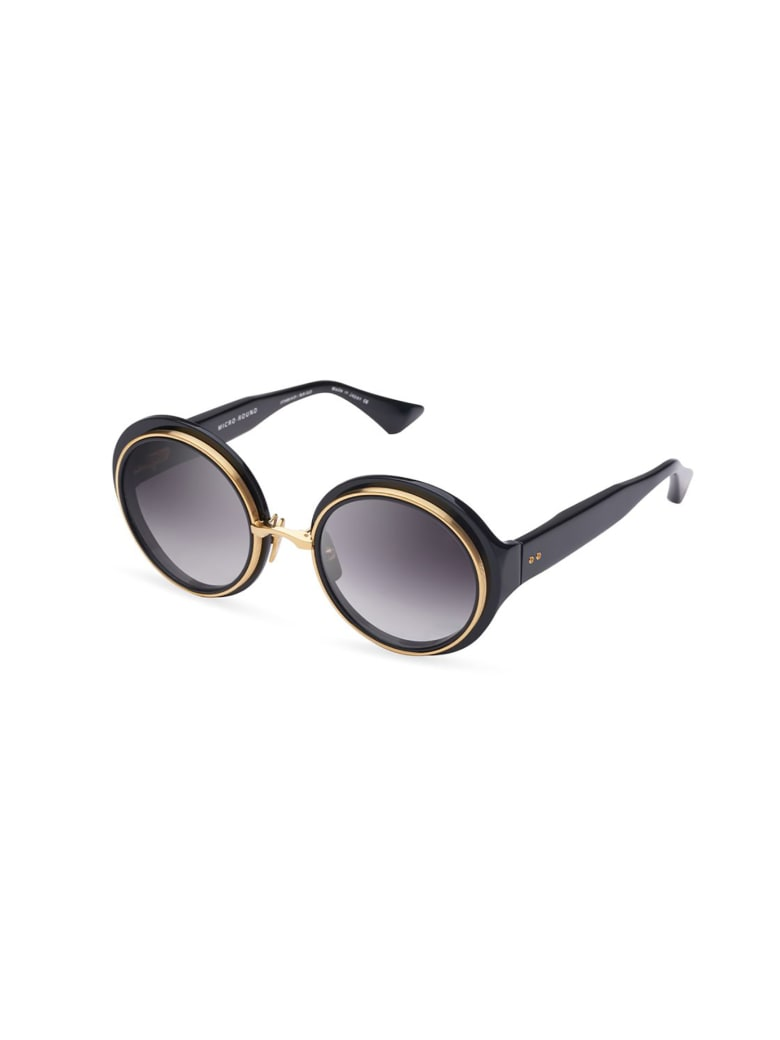 Dita DTS406/A/01 MICRO Sunglasses - Blk_yellow Gld