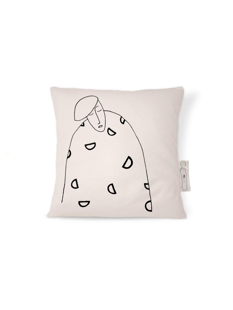 Kiasmo Cushions Alma Iii - Black/White