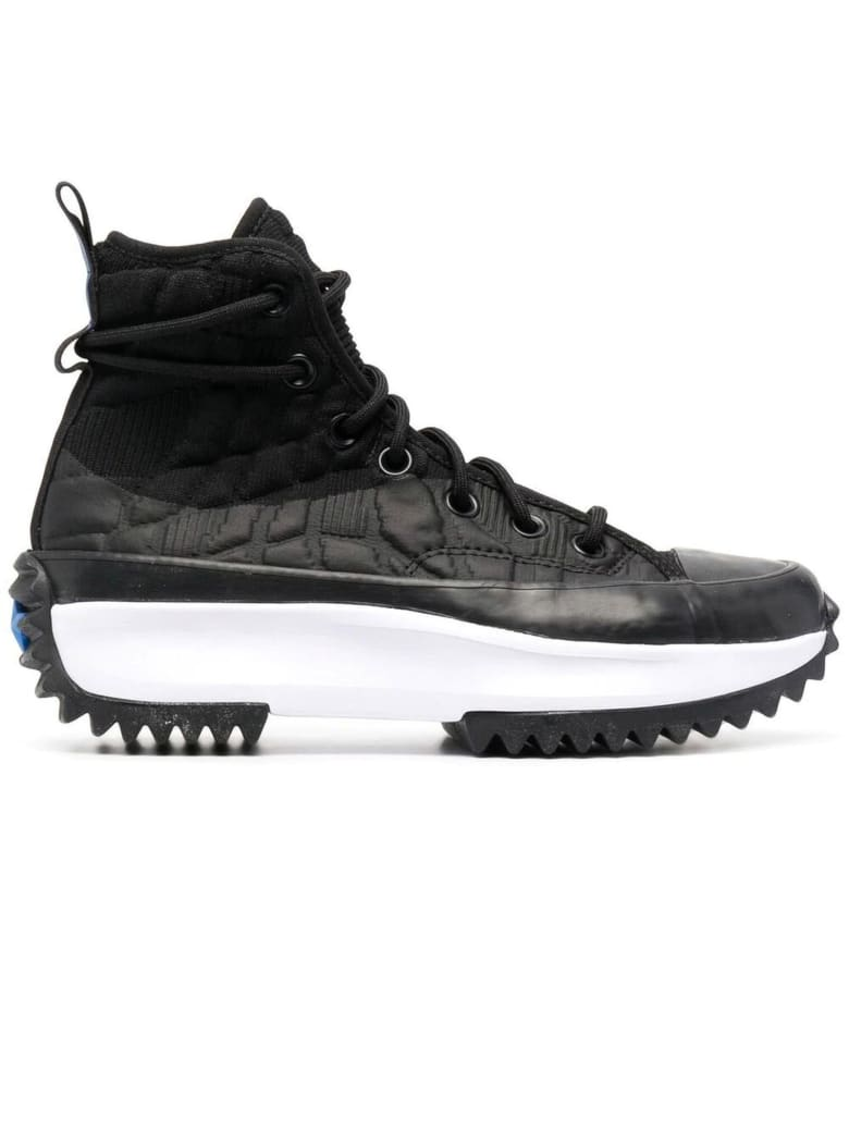 Converse Black Run Star Hike Sneakers - Nero