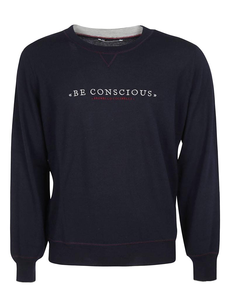 Brunello Cucinelli Be Conscious Sweater - Navy