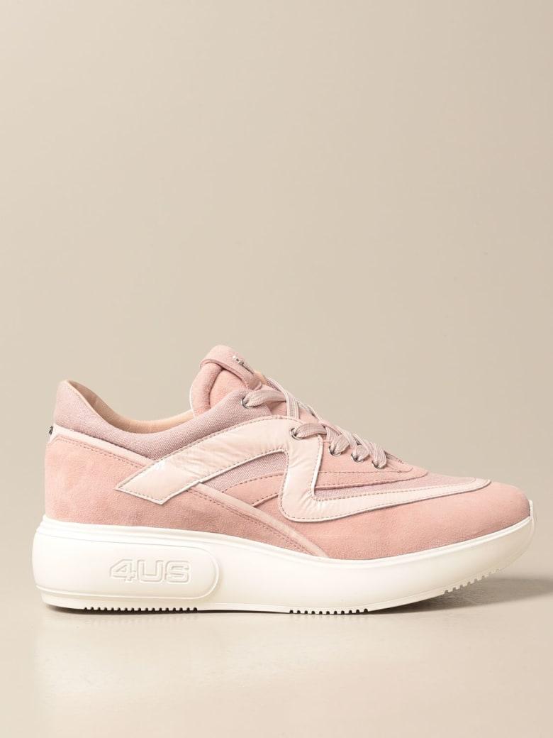 Paciotti 4US Sneakers Shoes Women Paciotti 4us - Blush Pink