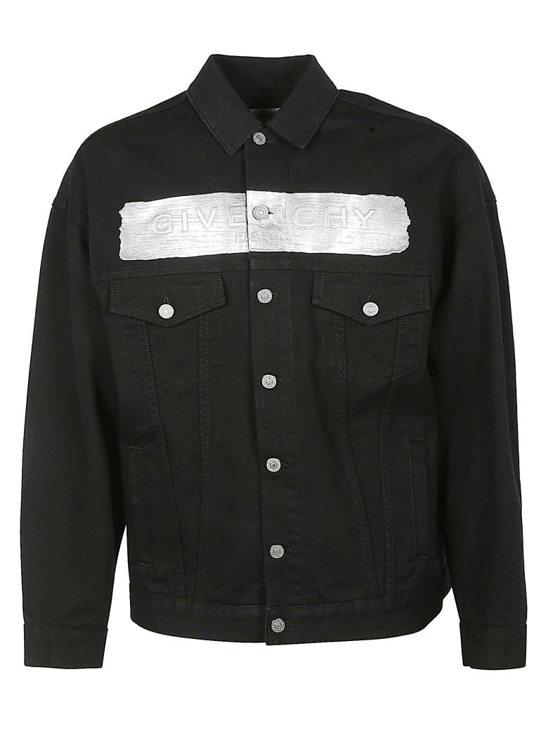 Givenchy Logo Denim Jacket - Nero