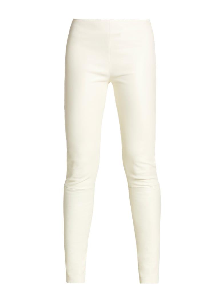 Kiton Trousers Lambskin - DIRTY WHITE