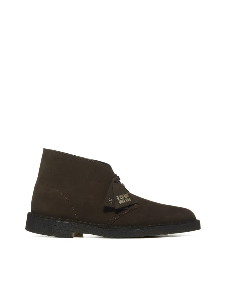 Clarks Boots - Brown