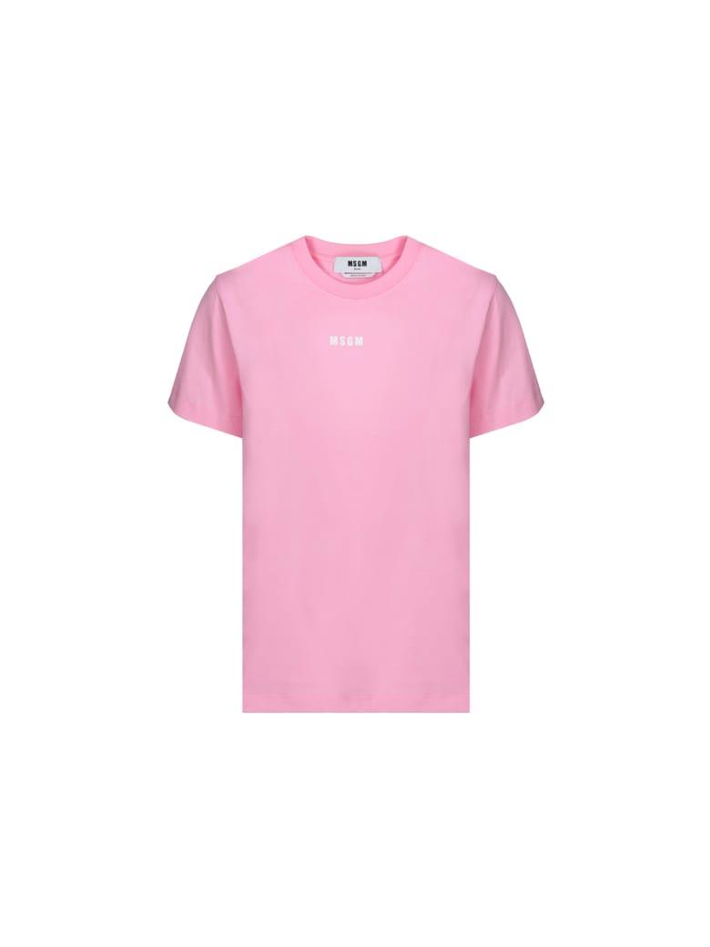 MSGM T-shirt - Rose