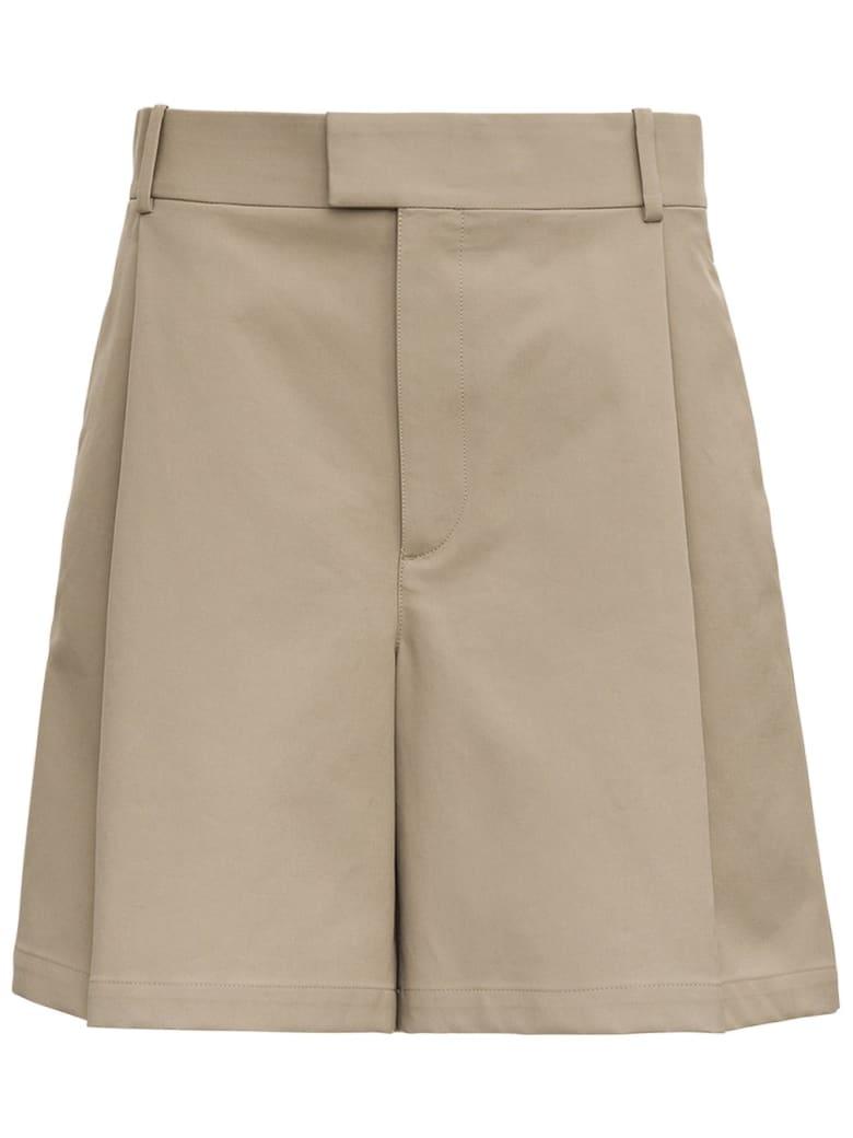 Bottega Veneta Beige Cotton Bermuda Shorts - Beige