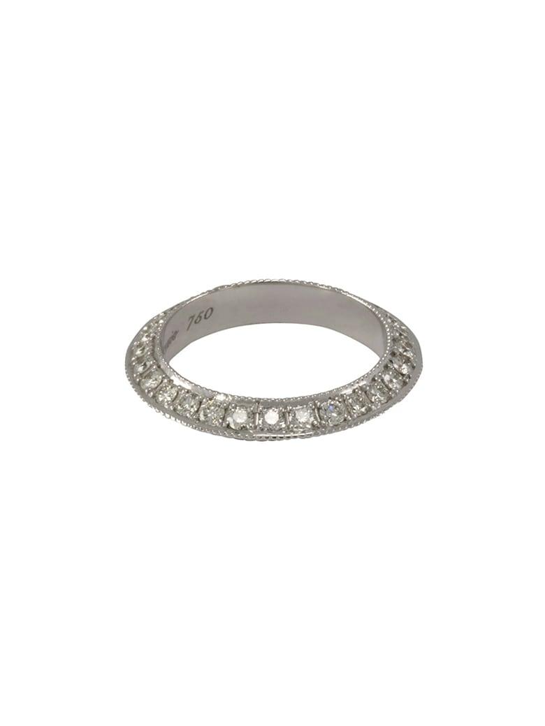 Lo Spazio Jewelry Lo Spazio Diamond Knife Edge Ring - Diamond