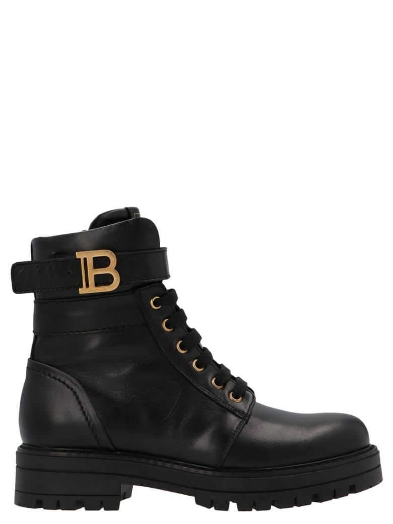 Balmain 'b' Shoes - Black