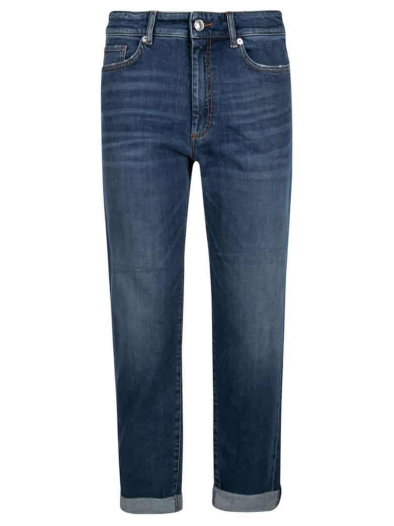 SportMax Straight Leg Jeans - Blue