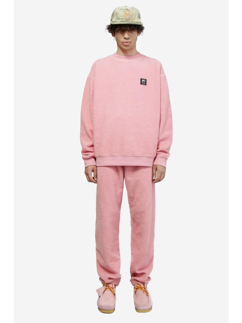 Brain Dead Reverse Fleece - rose-pink