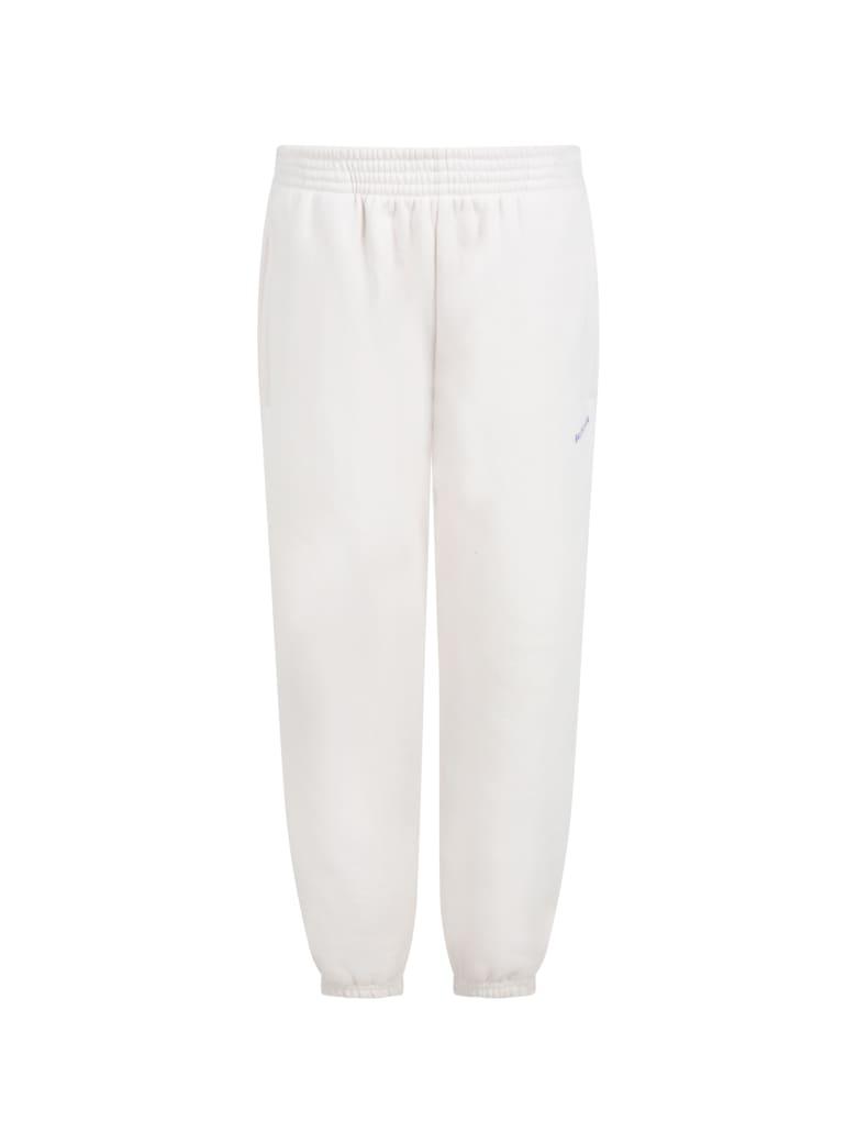 Balenciaga Beige Sweatpants For Kids With Logo - Beige
