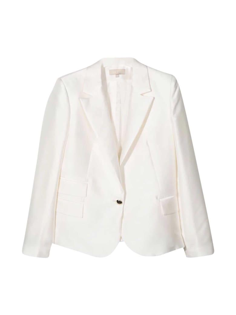 Elie Saab White Jacket - Avorio