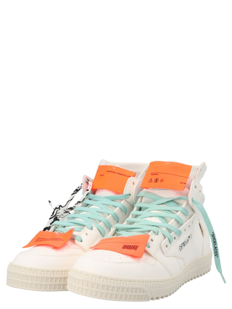 Off-White '3.0 Off Court Vintage' Shoes - White