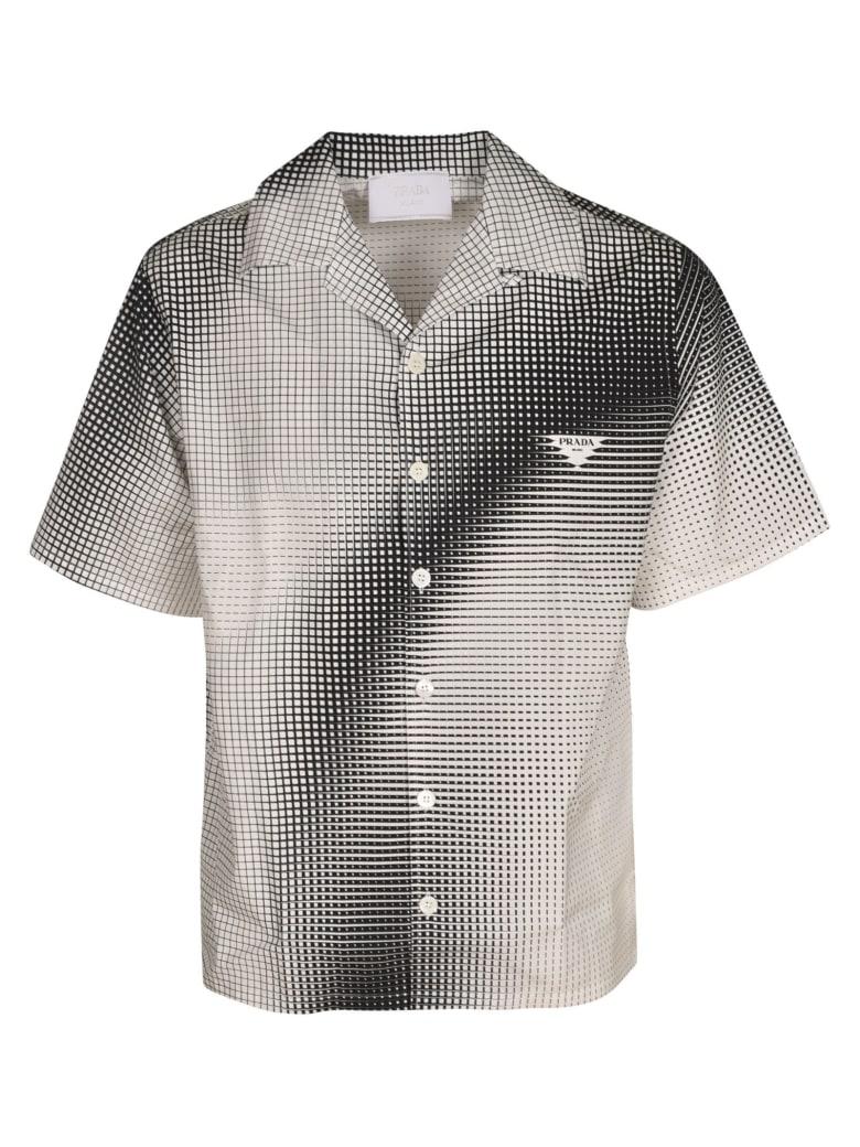 Prada Popeline Logo Shirt