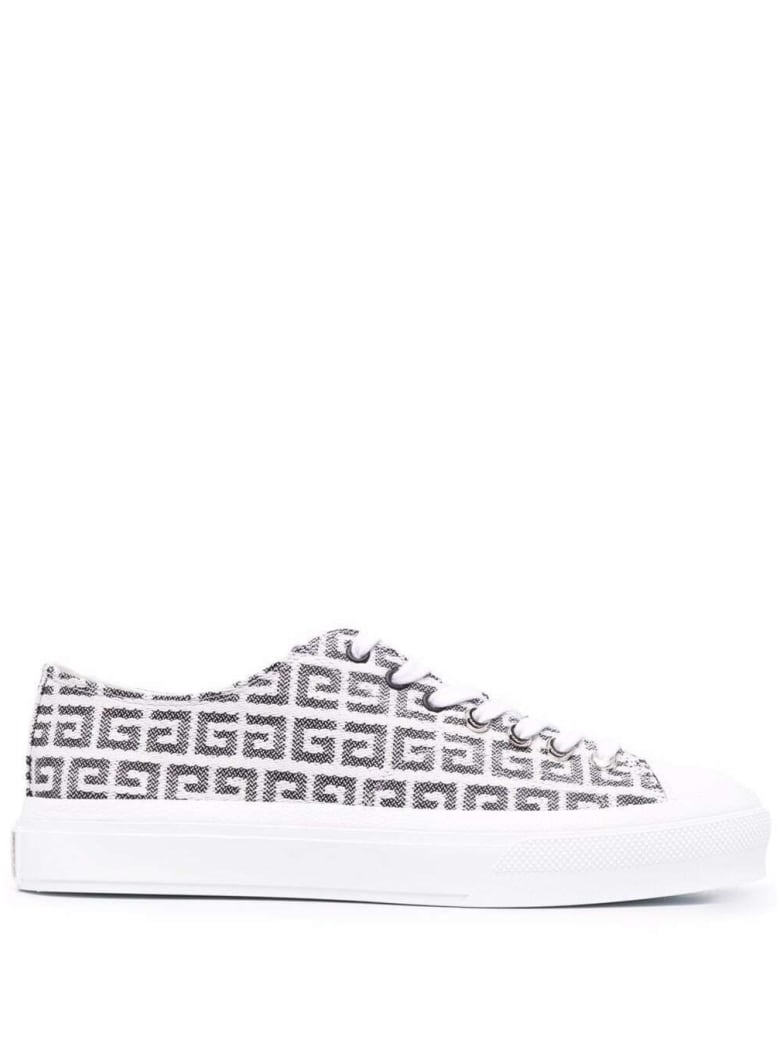 Givenchy Jacquard 4g City Sneakers - White