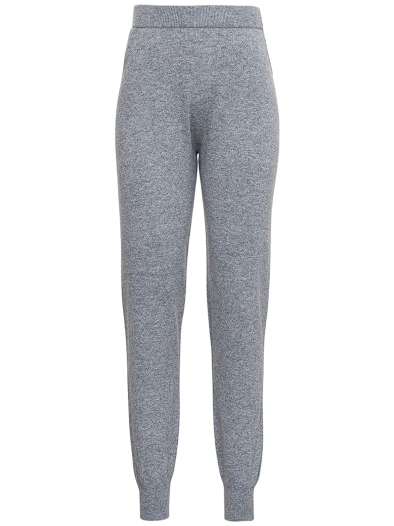 Fabiana Filippi Wool And Silk Grey Jogger - Grey