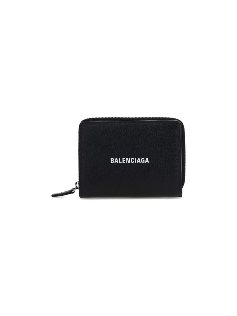 Balenciaga Wallet - Black L White