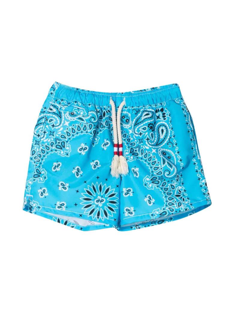 MC2 Saint Barth Blue Teen Swimsuit