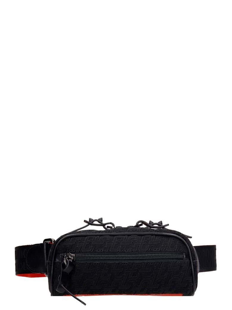 Christian Louboutin Blaster Waist Bag In Black Synthetic Fibers - black